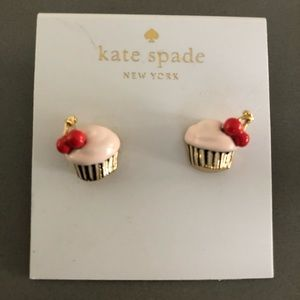 Kate Spade 🧁 Cupcake Earrings 🧁